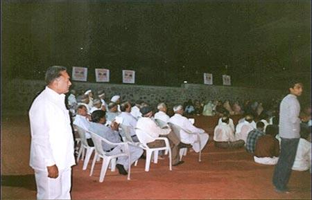 Awarenss Program of Eye Donation At Ahmednagar on 17th March 2004 Organised by Mr. Pramodji Kasat