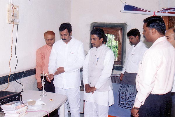 Opening of Eye Donation Camp at Hanuman Mandir, Bajajnagar By Kishor Soni (15th August, 2006)