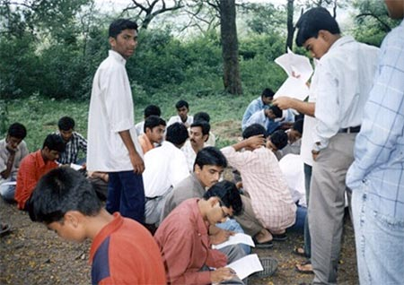Eye Donation Camp Dr.Babasaheb Ambedkar Marathwada University Campus, 21st Sept 2003, 101 Eye Pledge forms were collected