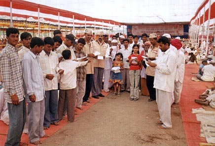 Eye Donation Camp Dharmasanskar Shibir - Ellora 4th Dec 2005