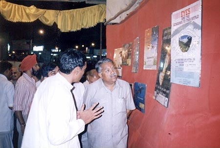 Hon. MP Shri Chandrakantji Khaire appreciating our work (17th May, 2003)