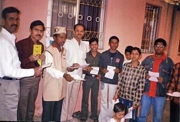 Eye Donation Camp Konkan Mitra Mandal, Aurangabad 26th Jan 2006