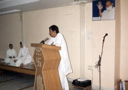 Eye Donation Camp Terapanth Bhawan, Aurangabad 29th August 2004, 25 Consent letters were collected
