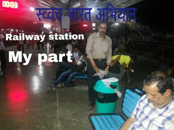 Ad.kishor soni part in swacha bharat abiyan