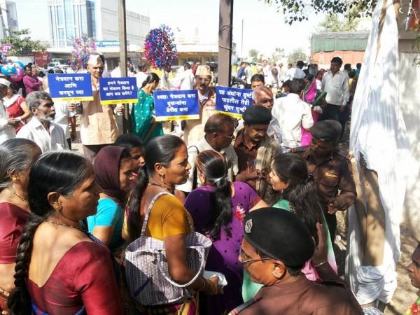 Netradan campaign in huge crowd