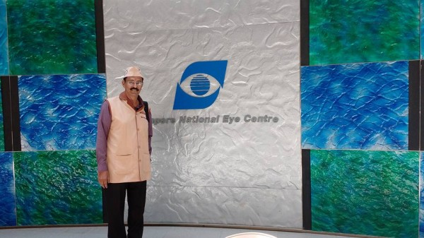 Kishor Soni at Singapore National Eye Center