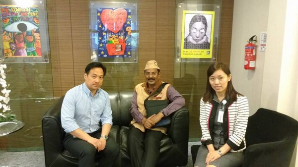 Ad.Kishor Soni is with core team of Singapore Eye Bank