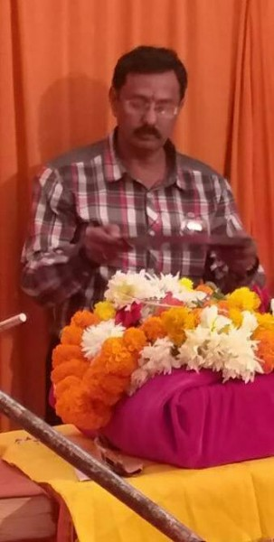 Netradan motivator Kishor soni at katha place